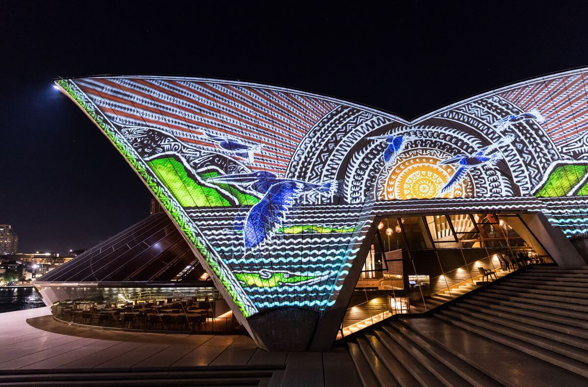 sydney opera house art projections 3