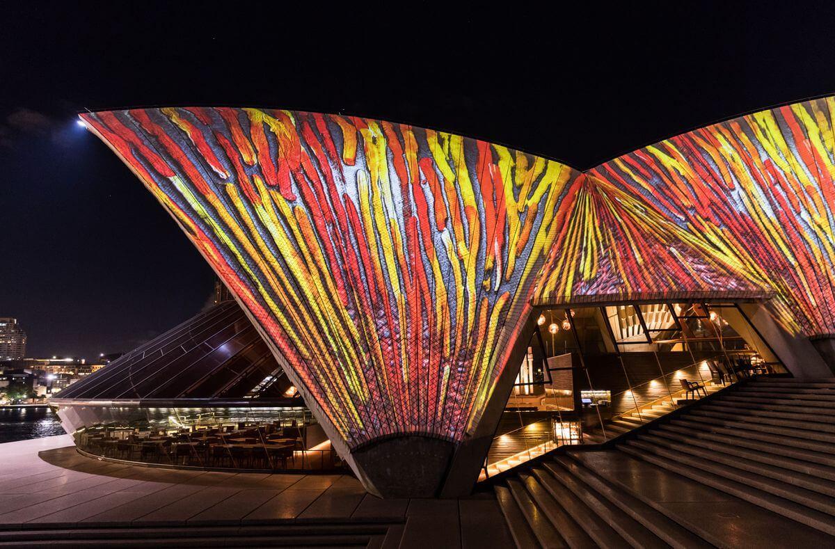 sydney opera house art projections 4