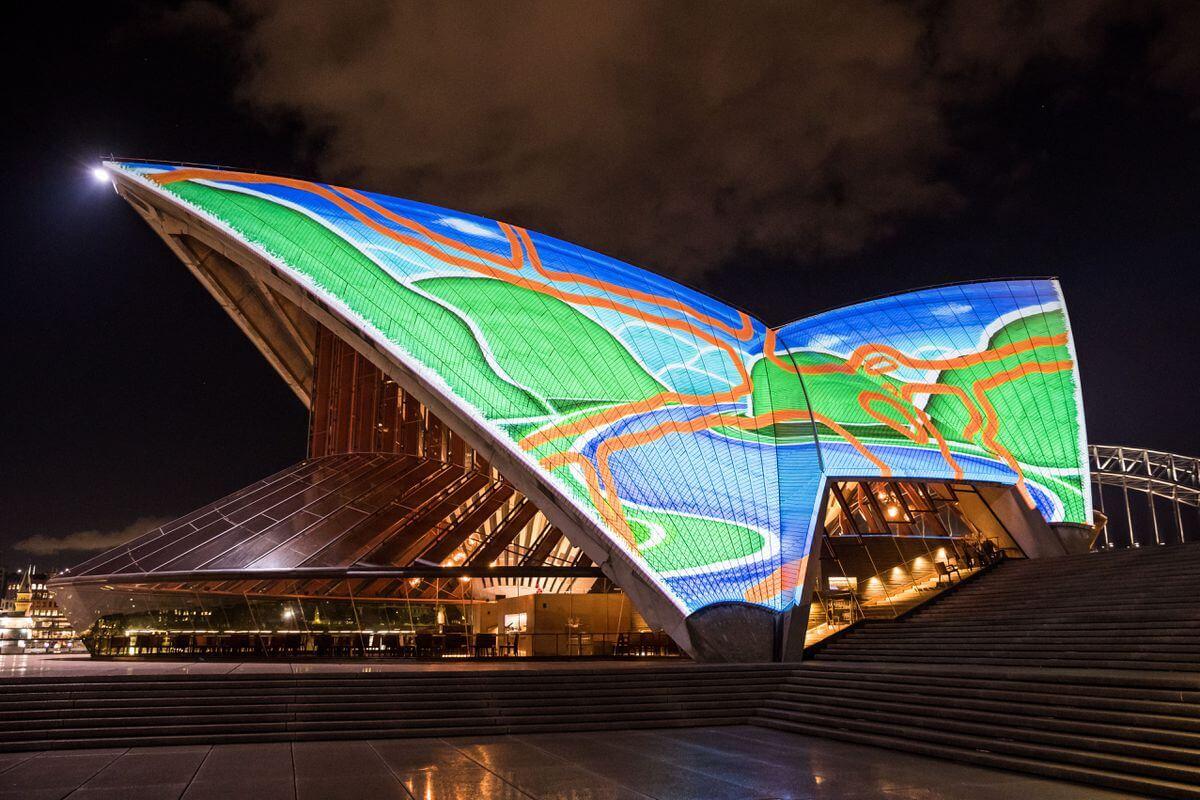 sydney opera house art projections 7