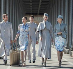 Chinese Airline Haute Couture Uniforms (1)