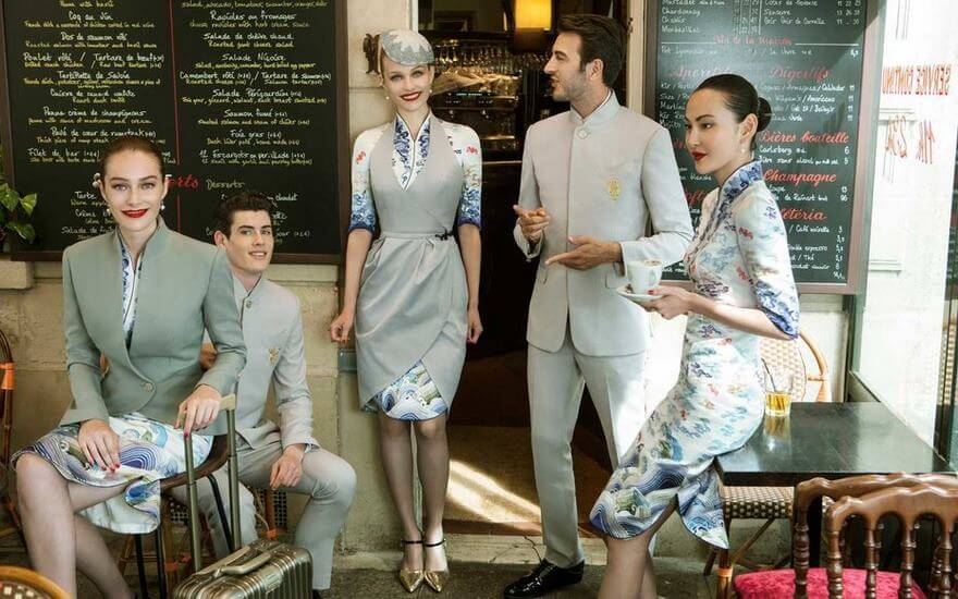 Chinese Airline Haute Couture Uniforms 2 (1)