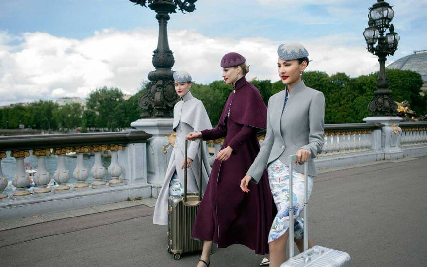 Chinese Airline Haute Couture Uniforms 5 (1)