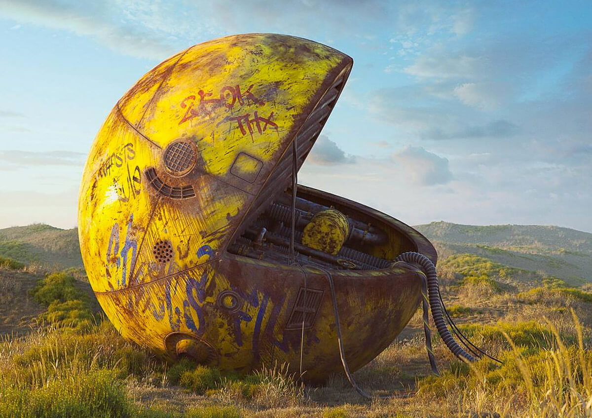 Filip Hodas pop culture icons art 11