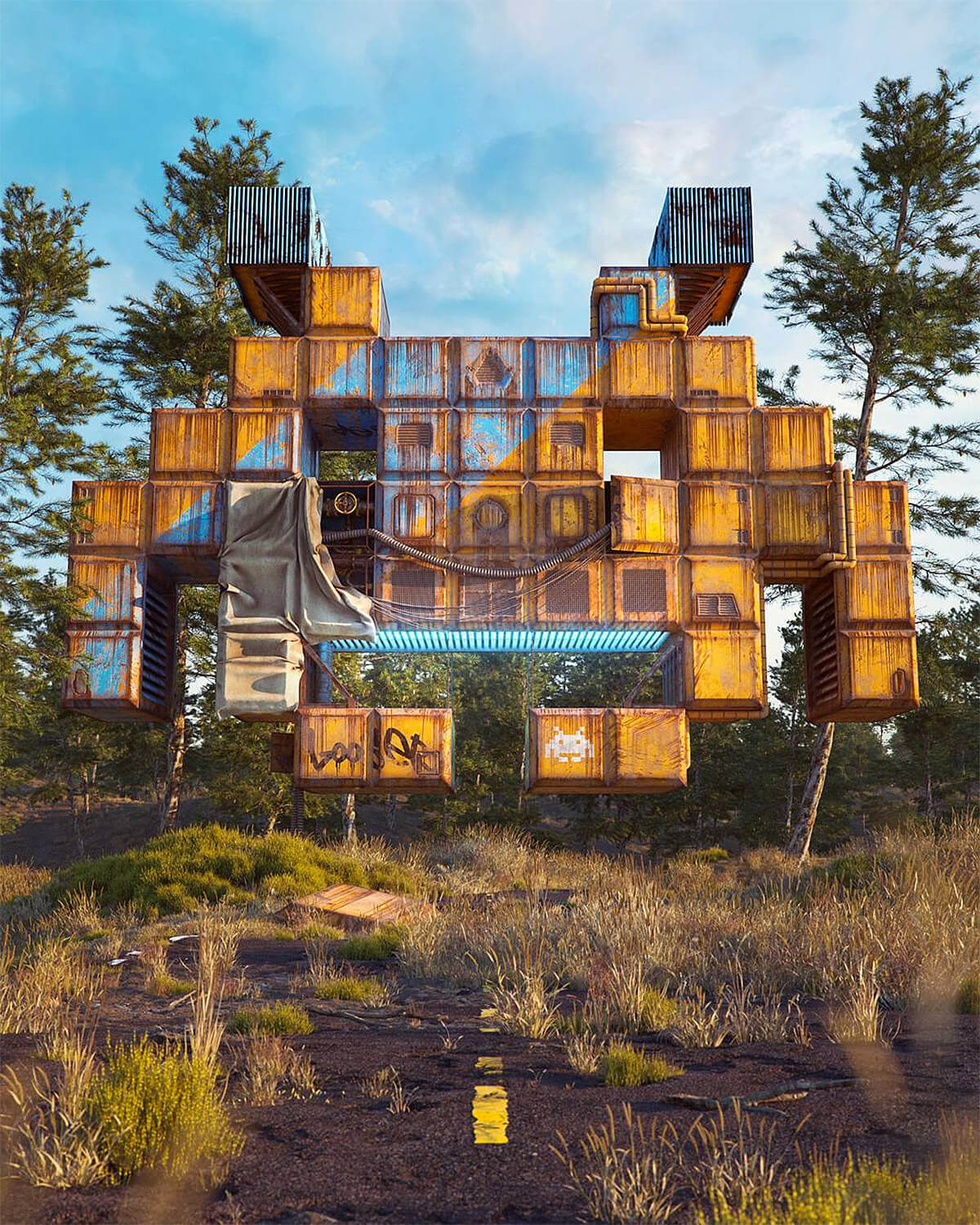 Filip Hodas pop culture icons art 3