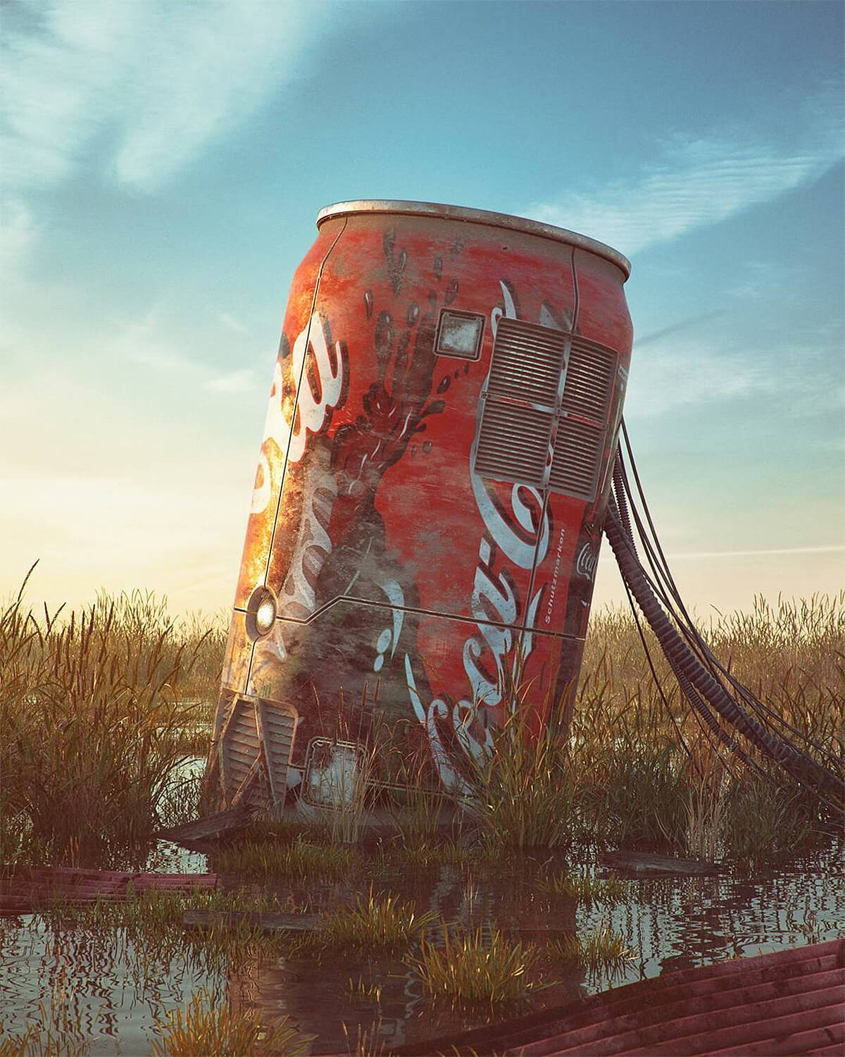 Filip Hodas pop culture icons art 5