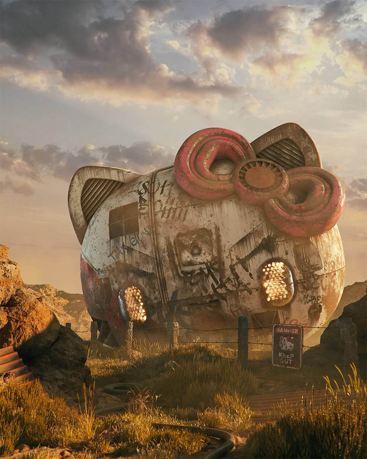 Filip Hodas pop culture icons art 7
