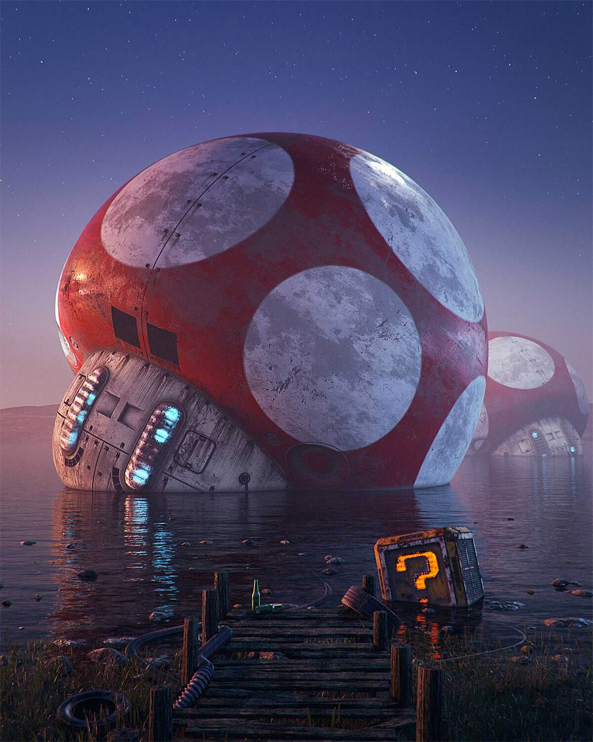 Filip Hodas pop culture icons art