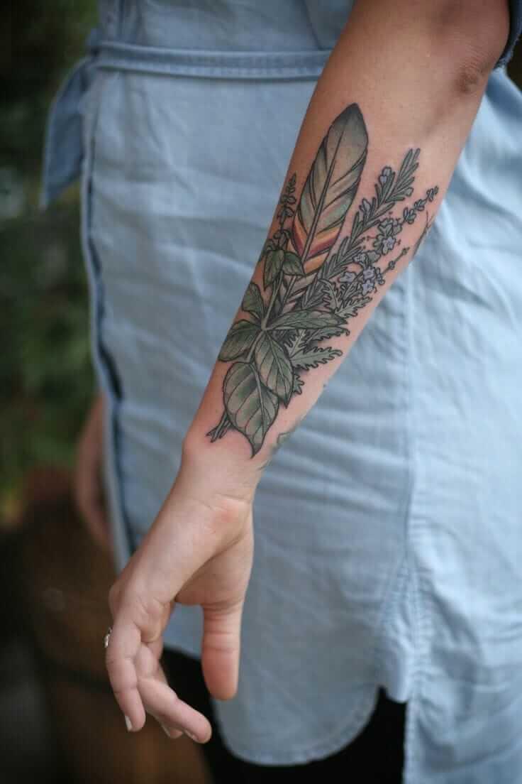 botanical ink design 12