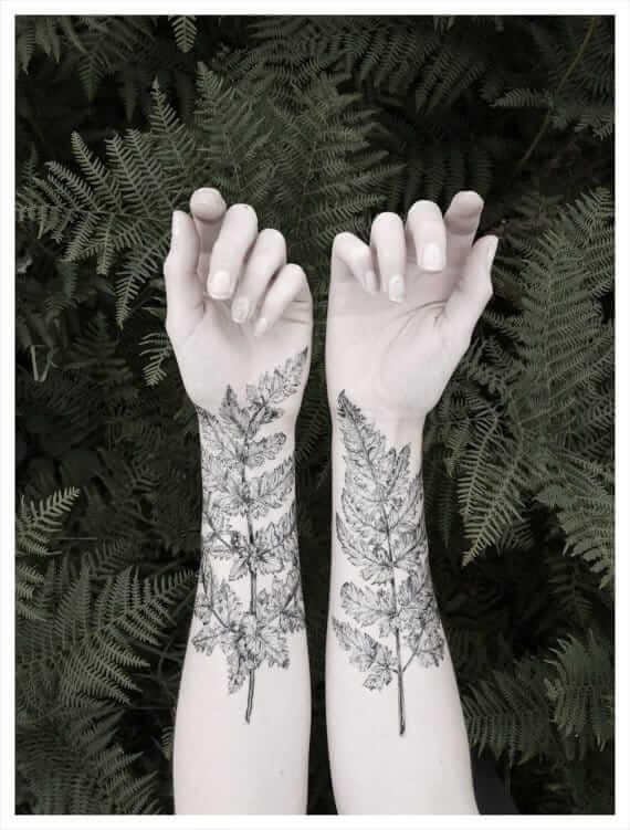 botanical ink design 22
