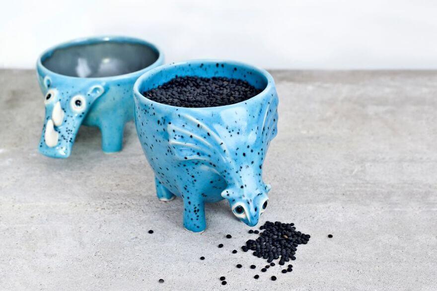 ceramic pot 8