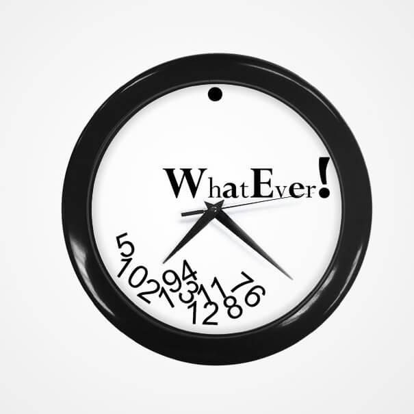 unique clocks 10