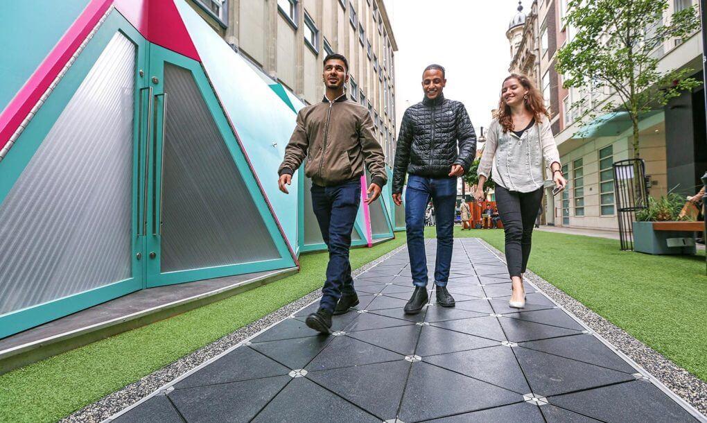 first Smart Street in london
