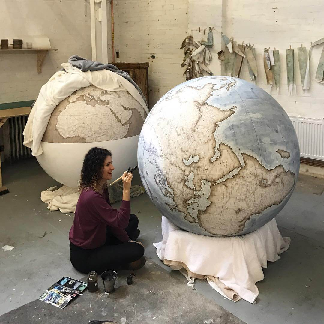 handmade globes handmade globes by bellerby co globemakers are a thing 1216