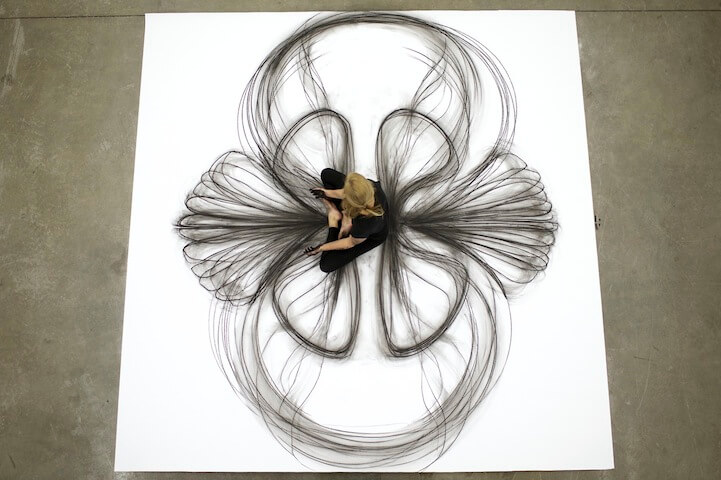 heather hansen beautiful charcoal drawings 3
