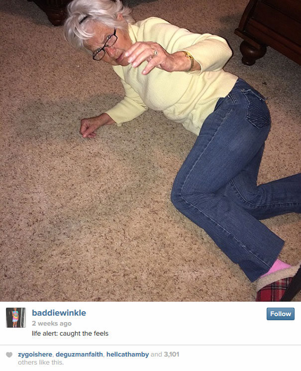 Hipster Grandma Baddie Winkle Is 86 Years Old And Crushing