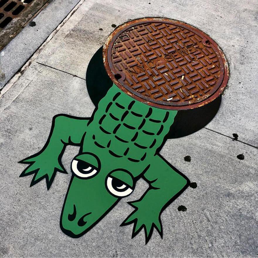 nyc street art tom bob10