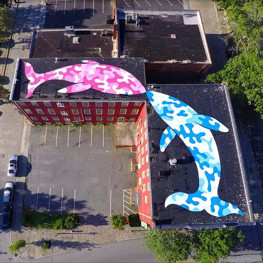 New York City Street Artist Tom Bob Paints The Streets