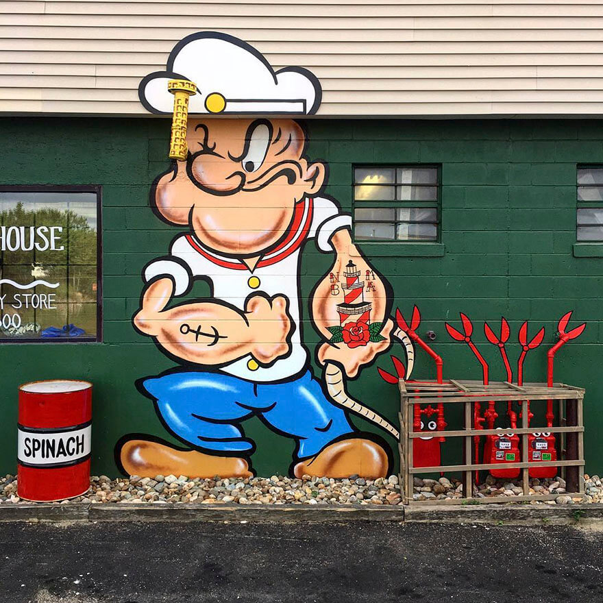 nyc street art tom bob14