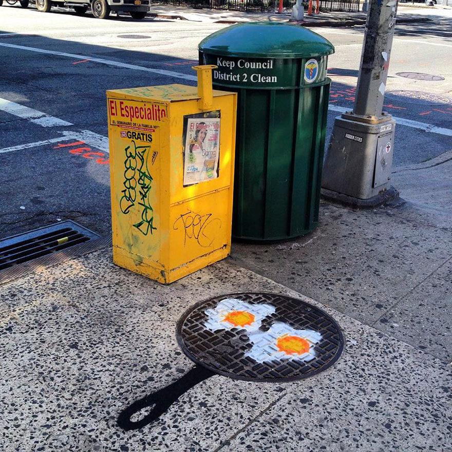 nyc street art tom bob24