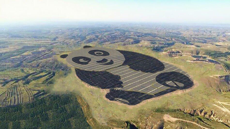 panda shaped solar farm (1)