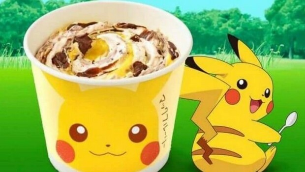 pikachu is taking over mcdonald s and the internet loves every