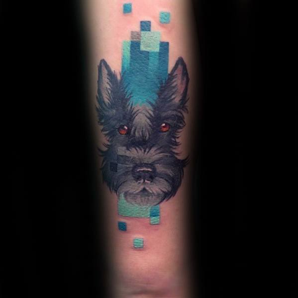 pixel design tattoo 17