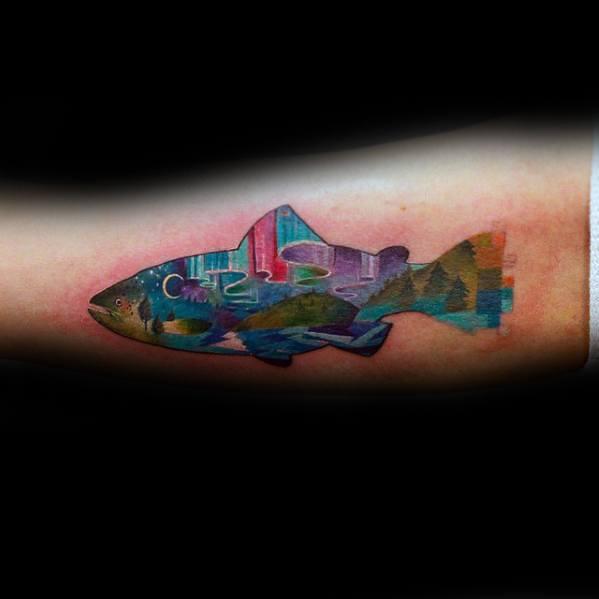 pixel design tattoo 23
