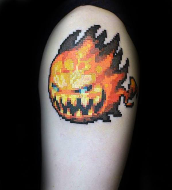 video game tattoo 53