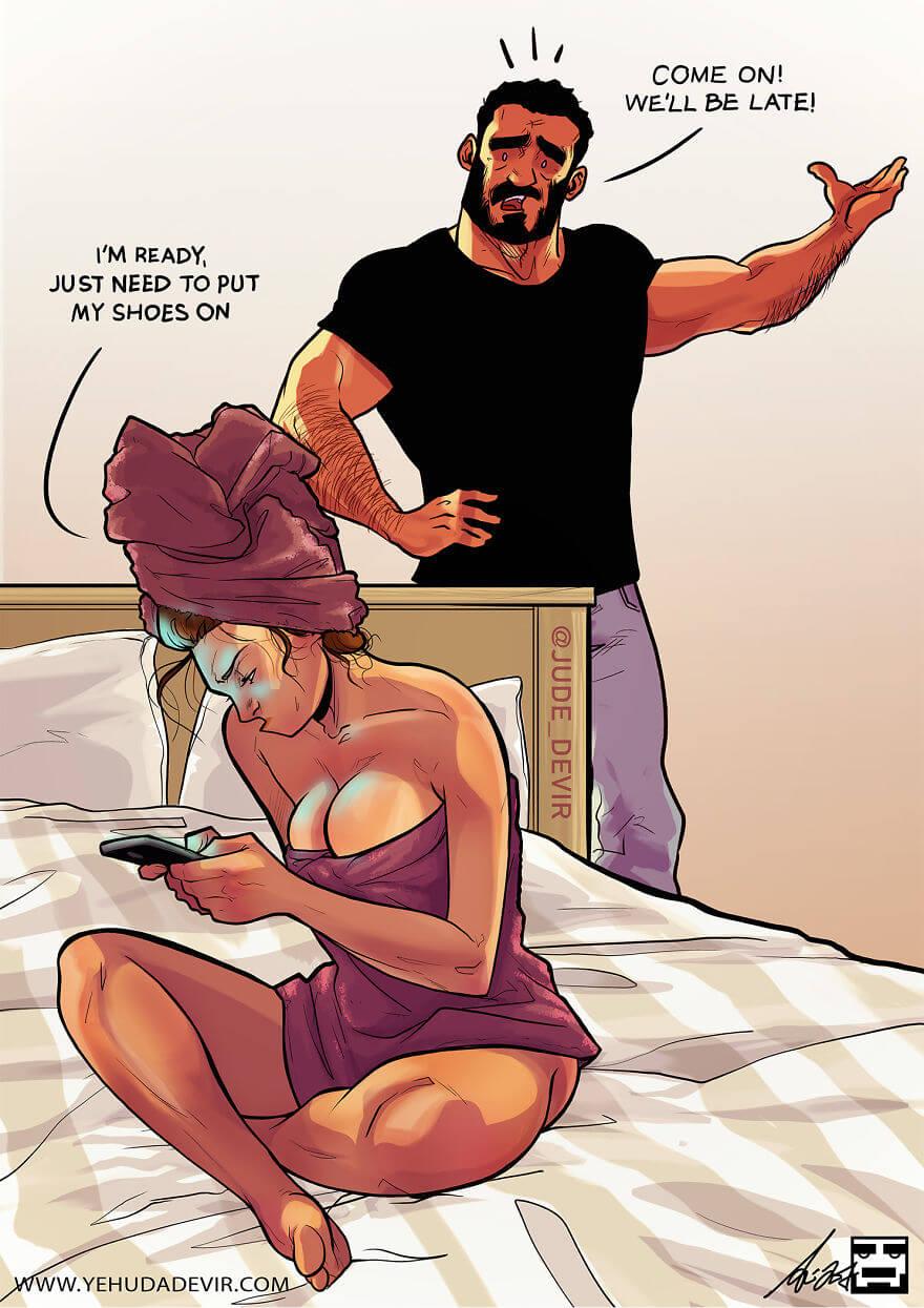 relationship comic yehuda devir 9 (1)