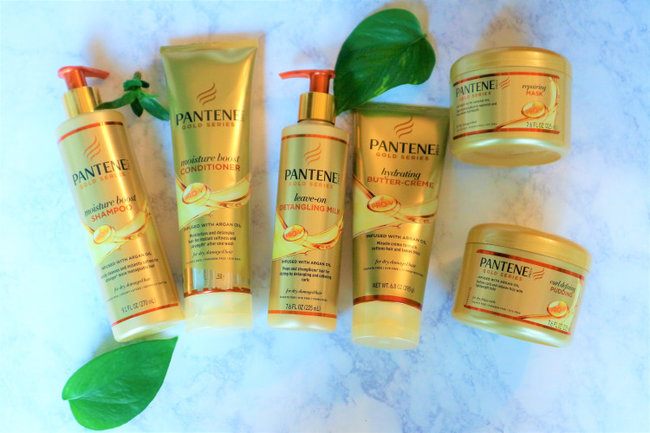 PANTENE Gold Series Curl Defining Pudding - best hair care products