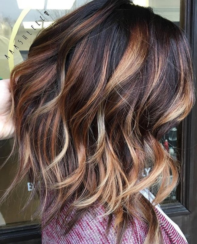 Rsz 4fb3ba192a4899b37c234fbf8e1eeb48 Brown Hair With Highlights Dark Caramel Balayage