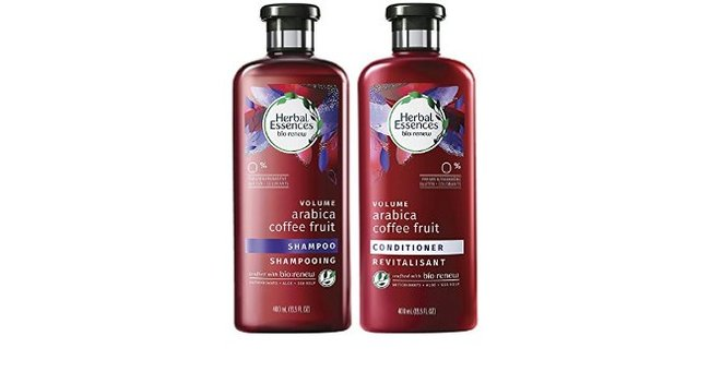 HERBAL ESSENCES Arabica Coffee Fruit Shampoo and Conditioner