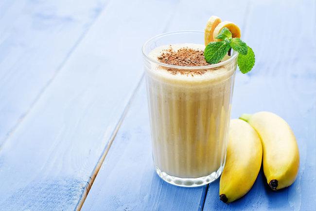 Как сделать смузи банан молоко 662