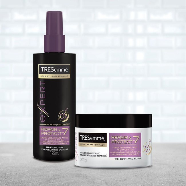 TRESEMMÉ Repair & Protect 7 Pre Styling Spray - best hair care products