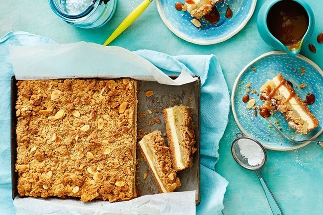 apple desserts - apple pie cheesecake bars