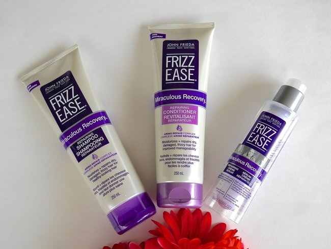 JOHN FRIEDA Frizz Ease Daily Nourishment Moisturizing Shampoo and Conditioner