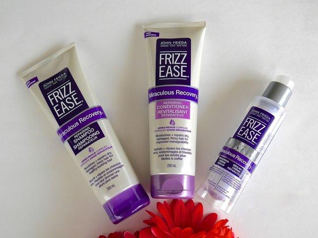JOHN FRIEDA Frizz Ease Daily Nourishment Moisturizing Shampoo and Conditioner