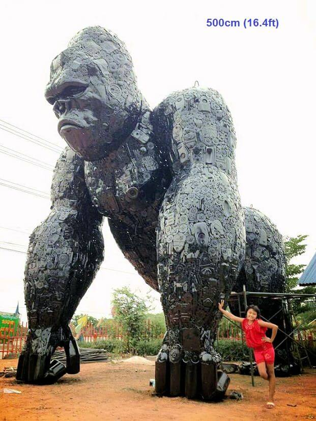 Scrap Metal Sculptures thailand (1)