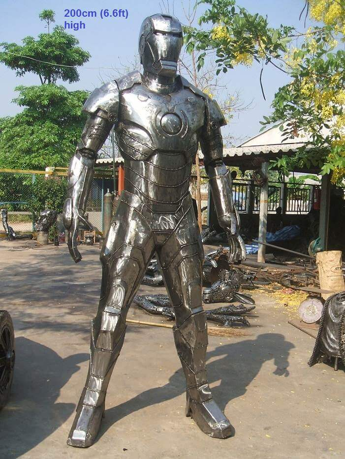 Huge Scrap Metal Sculptures From Thailand That Bring Your