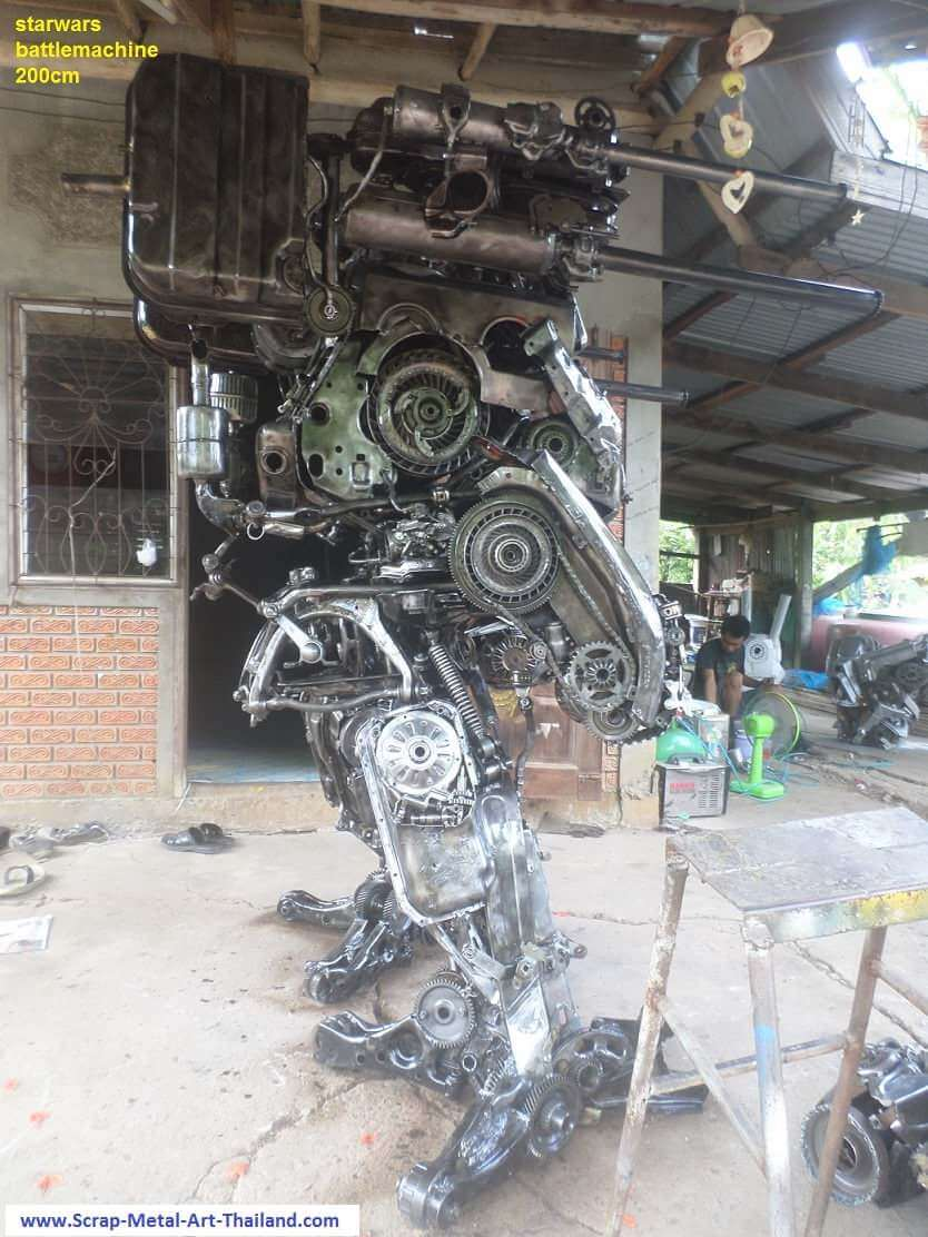 scrap metal art thailand 13 (1)