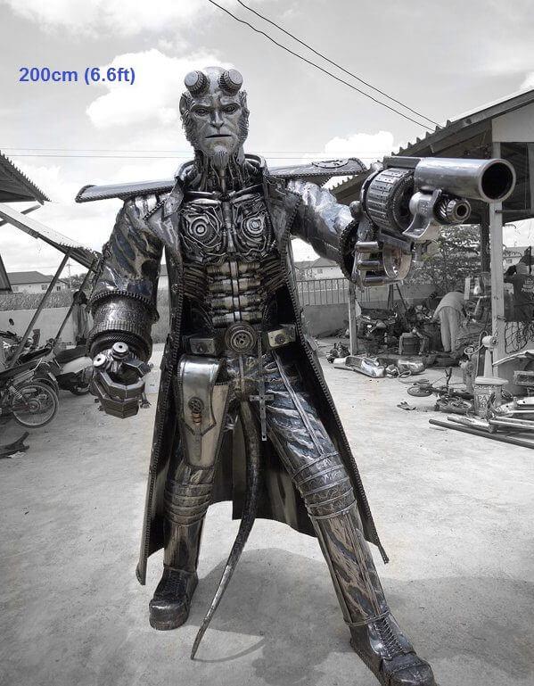scrap metal art thailand 17 (1)