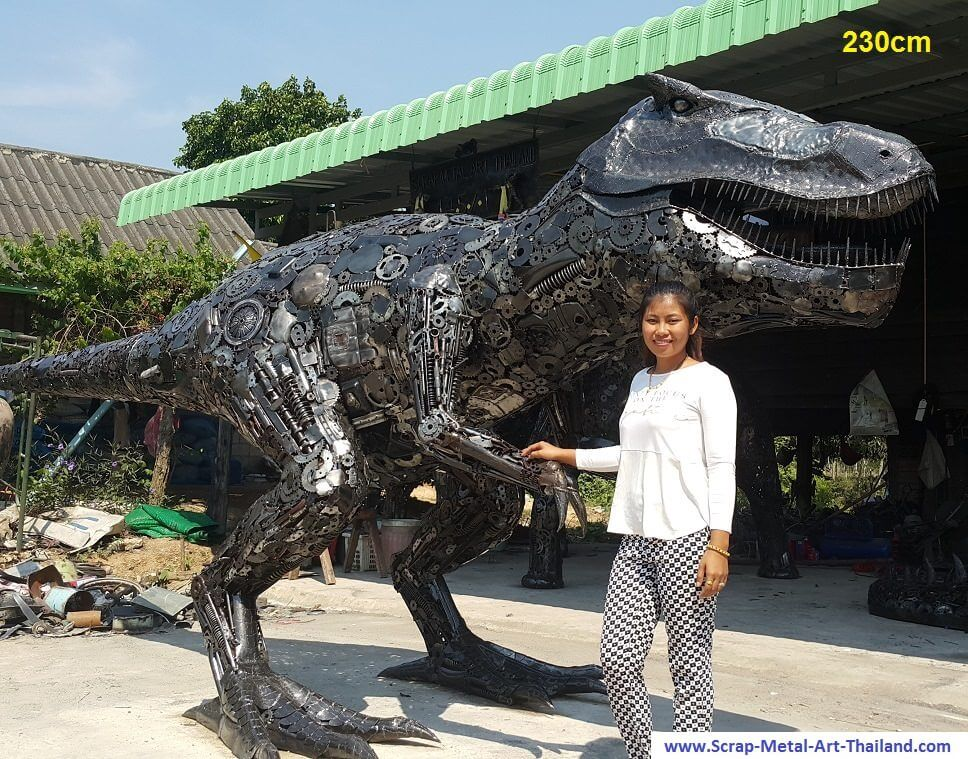 scrap metal art thailand 6 (1)