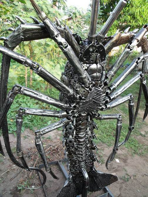 scrap metal art thailand 7 (1)