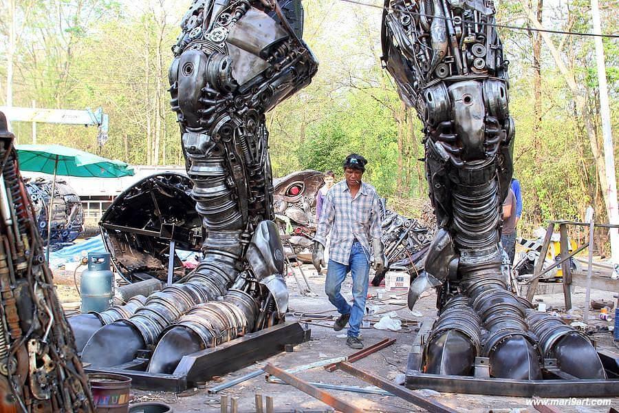 scrap metal art thailand 8 (1)