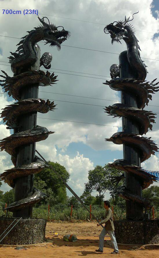 scrap metal art thailand 9 (1)