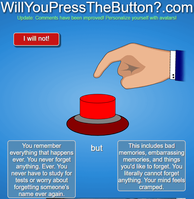 will you press the red button 27 (1)