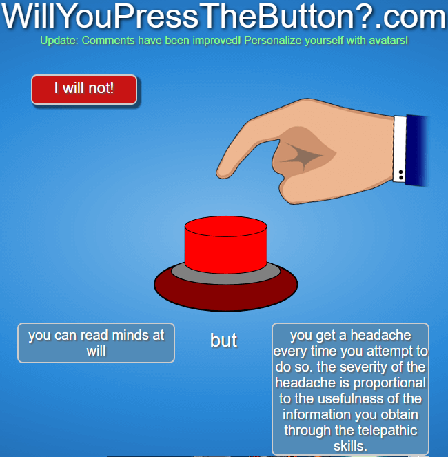 will you press the red button 28 (1)