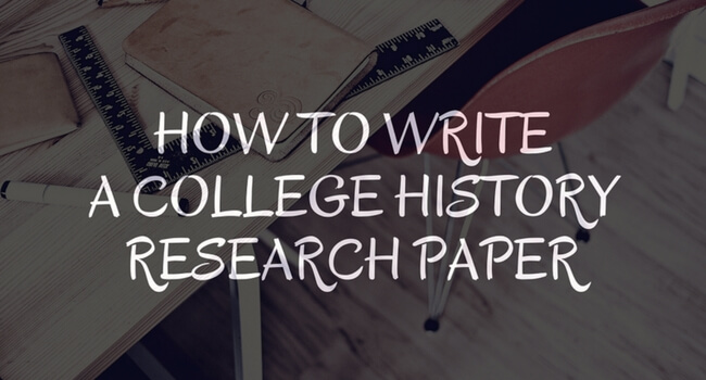 How to write a good history essay