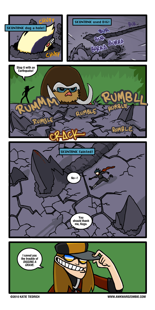 katie tiedrich Zombie comics 16 (1)