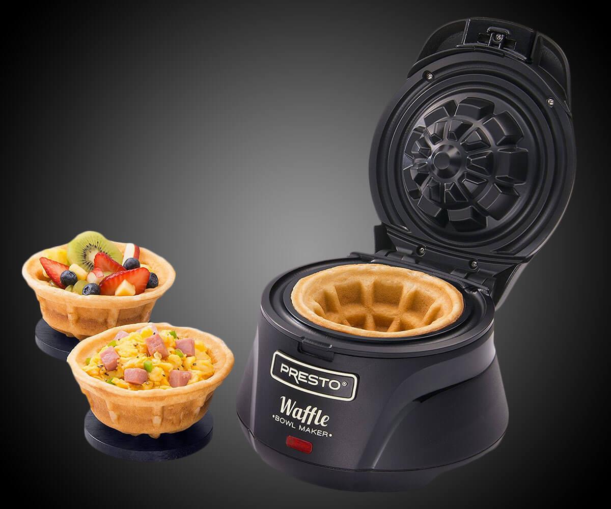 Belgian Bowl Waffle Maker (1)